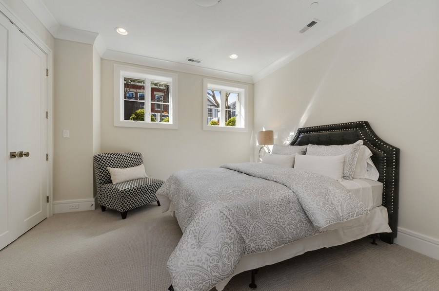 Real Estate Photography - 1823 N Bissell, Chicago, IL, 60614 - 5th Bedroom