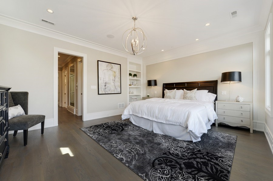Real Estate Photography - 1823 N Bissell, Chicago, IL, 60614 - Master Bedroom