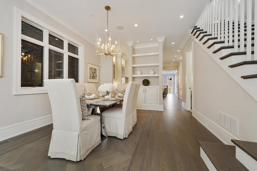 Real Estate Photography - 1823 N Bissell, Chicago, IL, 60614 - Dining Room
