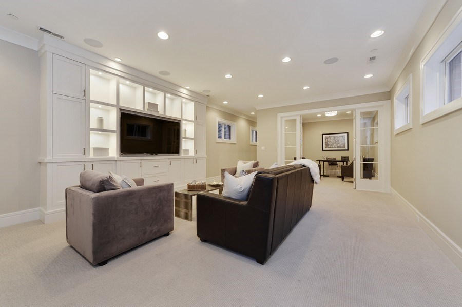 Real Estate Photography - 1823 N Bissell, Chicago, IL, 60614 - Family Room