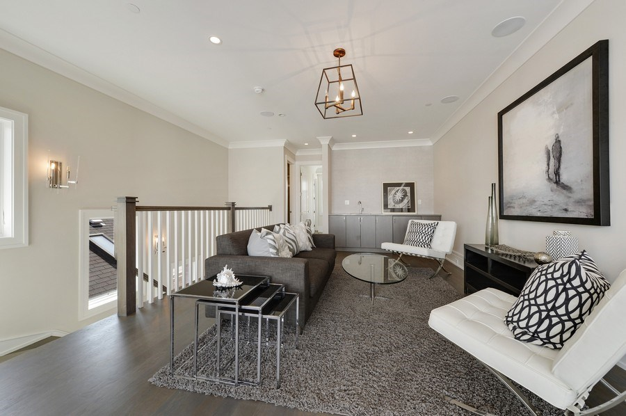 Real Estate Photography - 1823 N Bissell, Chicago, IL, 60614 - Den