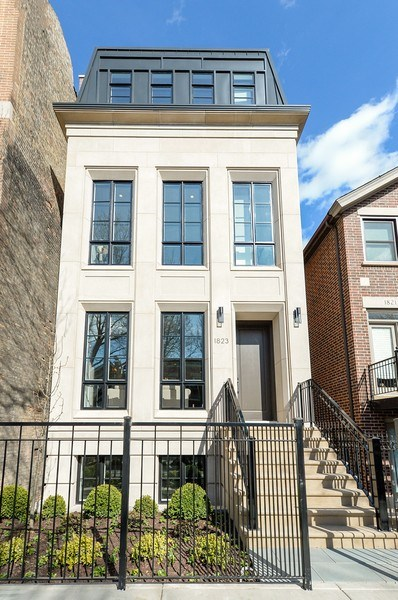 Real Estate Photography - 1823 N Bissell, Chicago, IL, 60614 - Front View