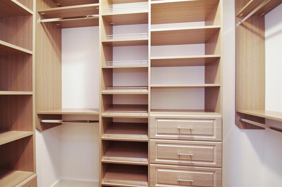 Real Estate Photography - 2024 W Melrose, Chicago, IL, 60618 - Master Bedroom Closet