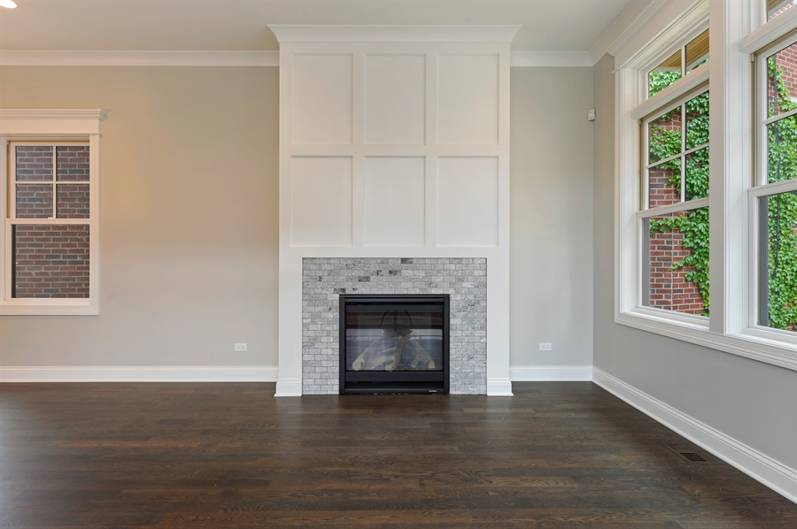 Real Estate Photography - 2230-2242 W Wolfram, Chicago, IL, 60618 - Living Room