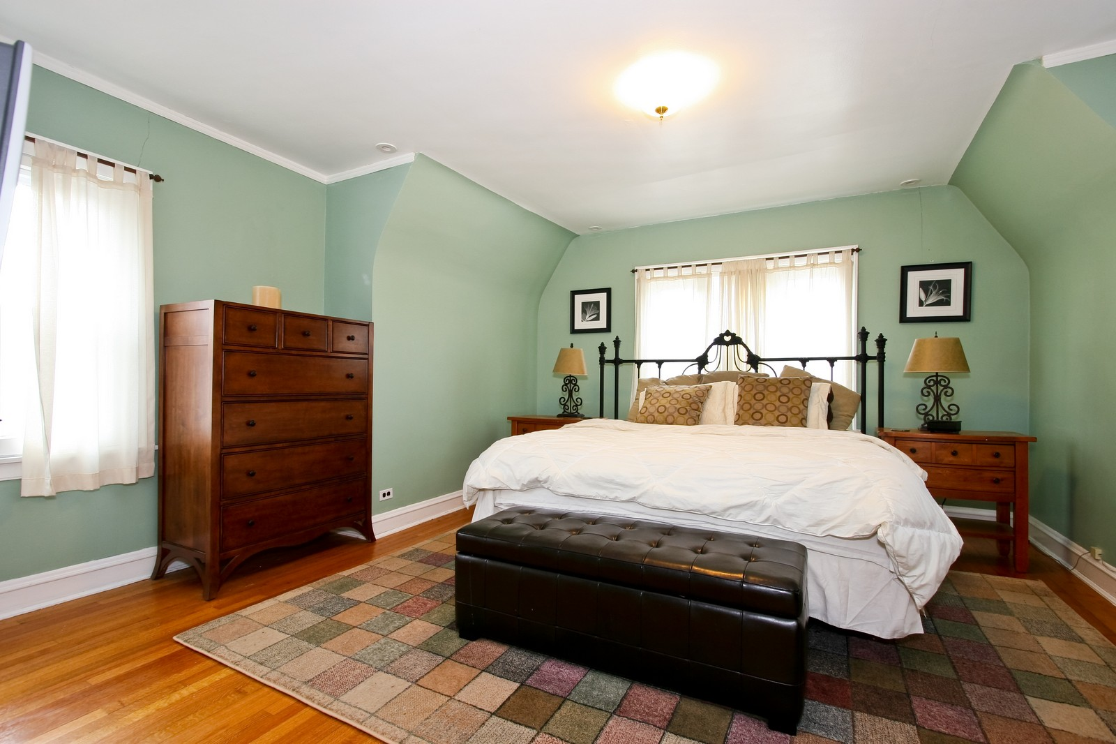 Real Estate Photography - 9001 S. Bell Ave., Chicago, IL, 60643 - Master Bedroom