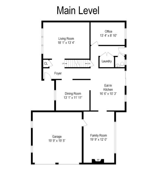 Real Estate Photography - 3 Debbie Court, E. Setauket, NY, 11733 - Floor Plan