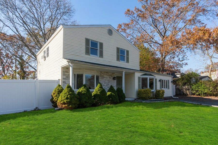 Real Estate Photography - 8 Belair Road, Selden, NY, 11784 - Front Curb Appeal