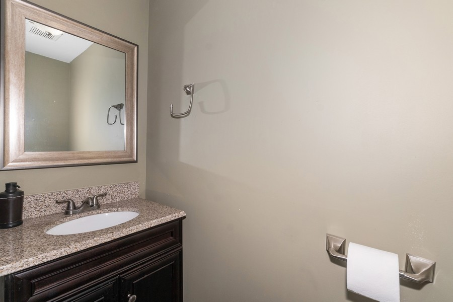 Real Estate Photography - 8 Belair Road, Selden, NY, 11784 - Powder Room