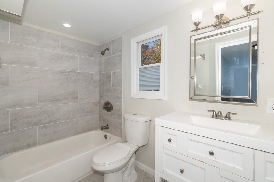 Real Estate Photography - 8 Belair Road, Selden, NY, 11784 - Second Floor Bath