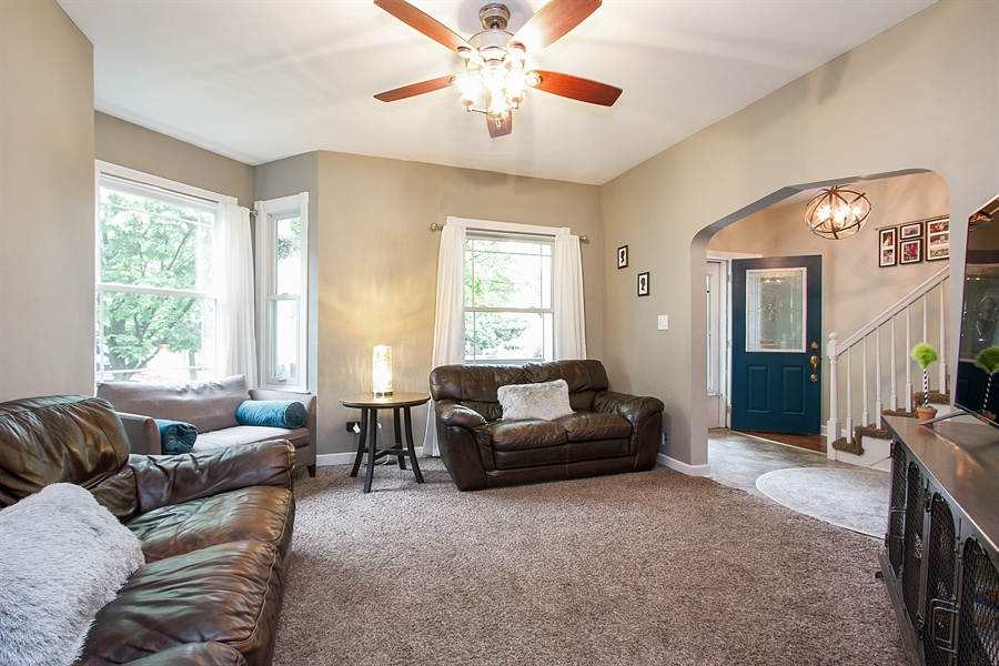 Real Estate Photography - 11337 S Fairfield, Chicago, IL, 60655 - Living Room