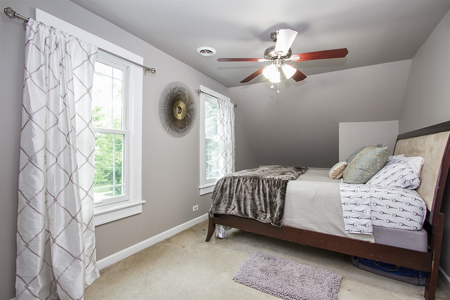 Real Estate Photography - 11337 S Fairfield, Chicago, IL, 60655 - Bedroom