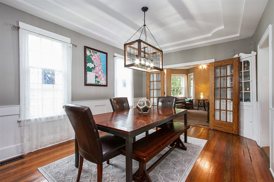 Real Estate Photography - 11337 S Fairfield, Chicago, IL, 60655 - Dining Room