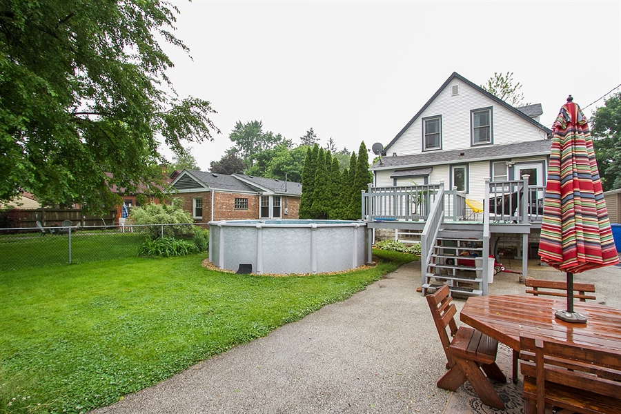 Real Estate Photography - 11337 S Fairfield, Chicago, IL, 60655 - Rear View