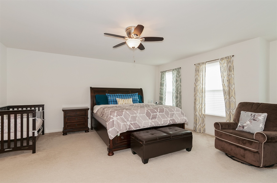 Real Estate Photography - 227 Norway Dr, Bartlett, IL, 60103 - Master Bedroom