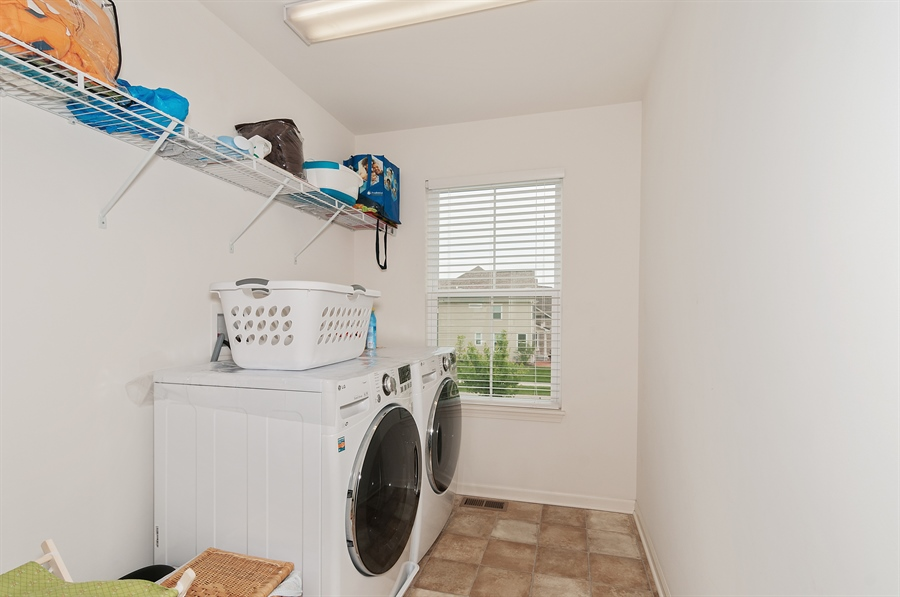 Real Estate Photography - 227 Norway Dr, Bartlett, IL, 60103 - Laundry Room