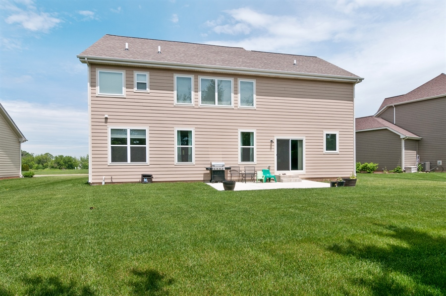 Real Estate Photography - 227 Norway Dr, Bartlett, IL, 60103 - Rear View