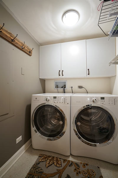 Real Estate Photography - 161 E Chicago Ave, Unit 52F, Chicago, IL, 60611 - Laundry Room