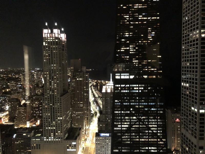 Real Estate Photography - 161 E Chicago Ave, Unit 52F, Chicago, IL, 60611 - North View - night