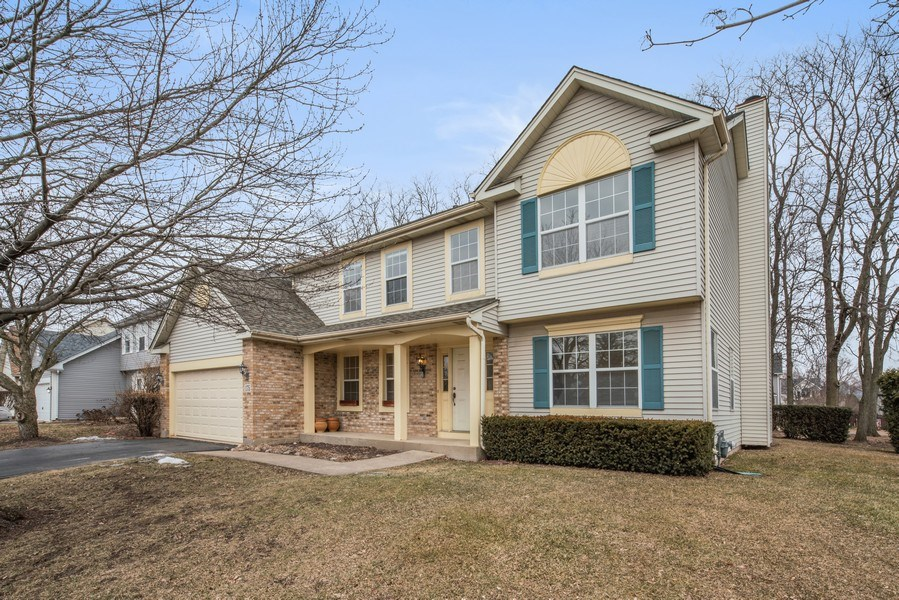 Real Estate Photography - 175 Meadowview Ln., Aurora, IL, 60502 - Front View