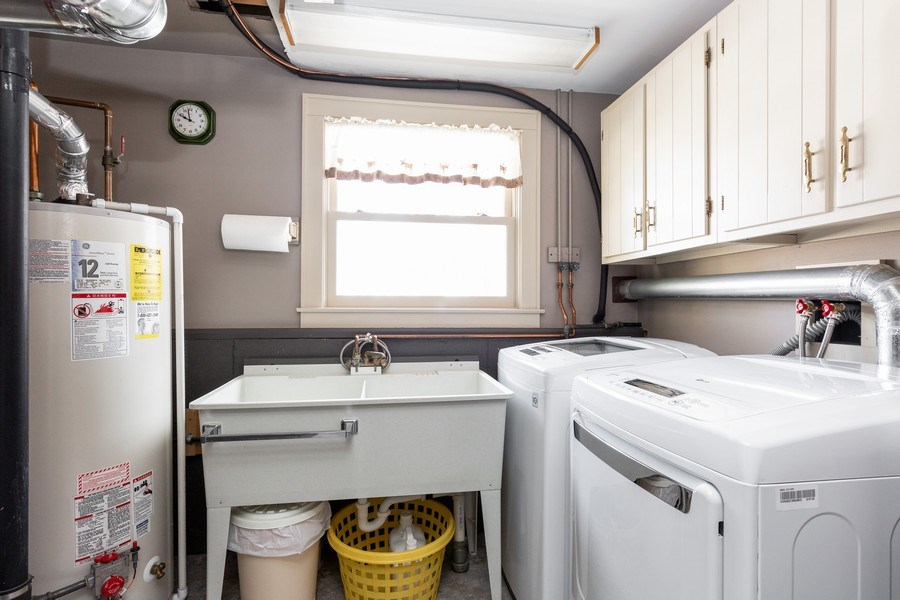 Real Estate Photography - 4N621 Deerslayer, Elburn, IL, 60119 - Laundry Room