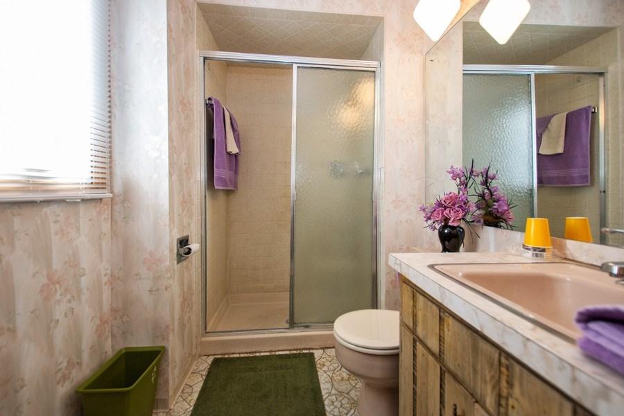 Real Estate Photography - 18W155, BELAIRE, DARIEN, IL, 60561 - Master Bathroom
