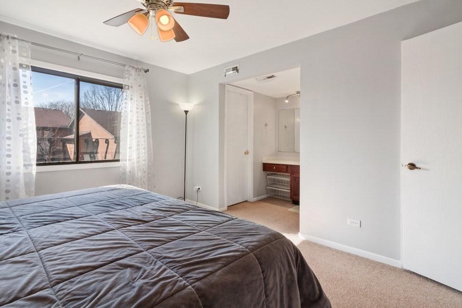 Real Estate Photography - 2212 Wharf Dr Apt 2107, Woodridge, IL, 60517 - Master Bedroom