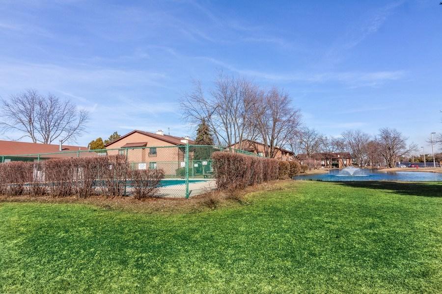 Real Estate Photography - 2212 Wharf Dr Apt 2107, Woodridge, IL, 60517 - Pool