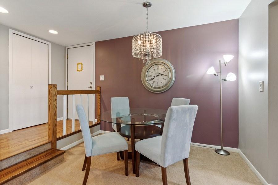 Real Estate Photography - 2212 Wharf Dr Apt 2107, Woodridge, IL, 60517 - Dining Area