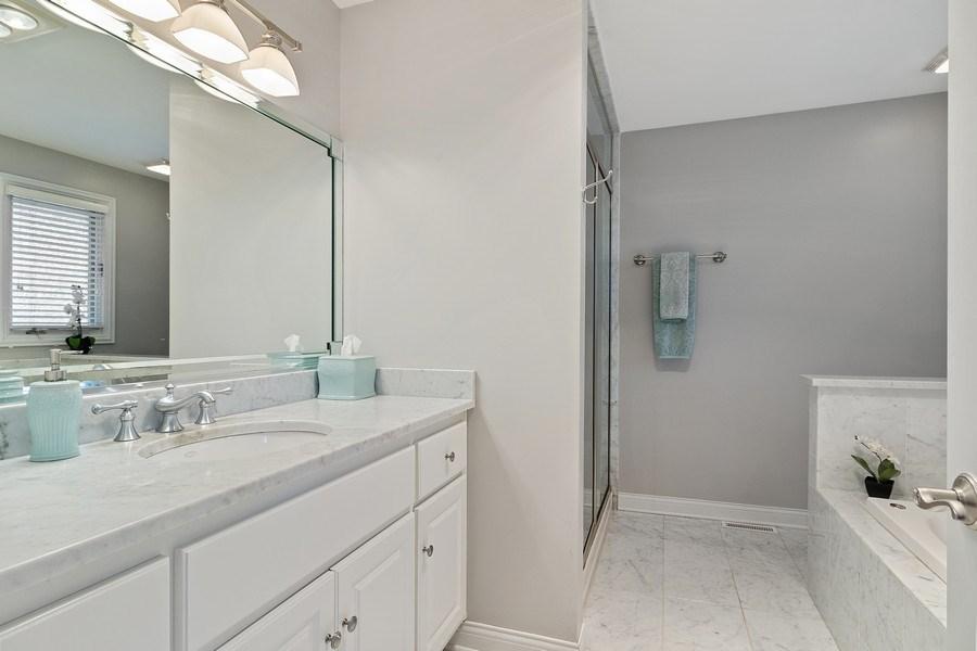 Real Estate Photography - 16660 Manitou Rd, Homer Glen, IL, 60491 - Master Bathroom