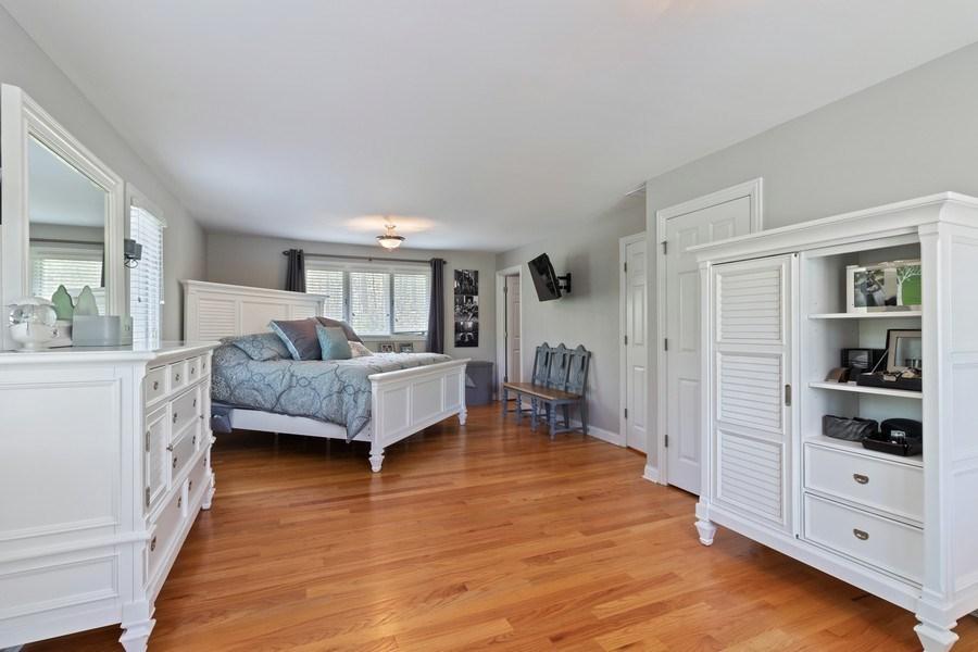 Real Estate Photography - 16660 Manitou Rd, Homer Glen, IL, 60491 - Master Bedroom