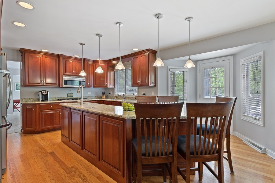Real Estate Photography - 16660 Manitou Rd, Homer Glen, IL, 60491 - Kitchen