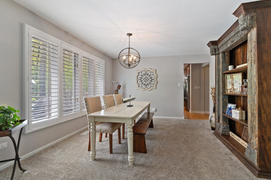 Real Estate Photography - 16660 Manitou Rd, Homer Glen, IL, 60491 - Dining Room