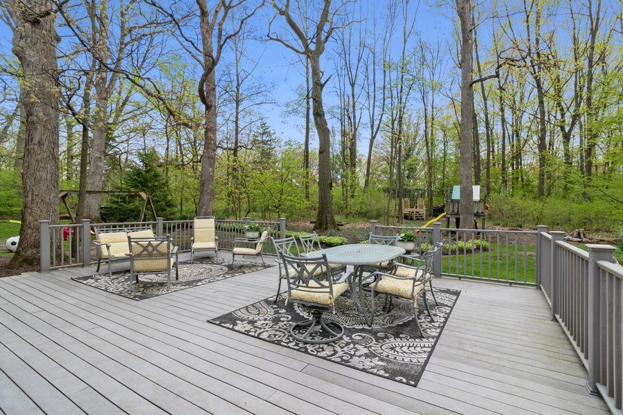 Real Estate Photography - 16660 Manitou Rd, Homer Glen, IL, 60491 - Deck