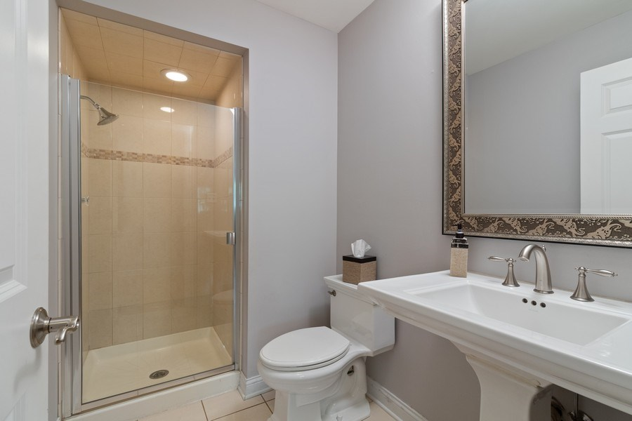 Real Estate Photography - 16660 Manitou Rd, Homer Glen, IL, 60491 - Bathroom