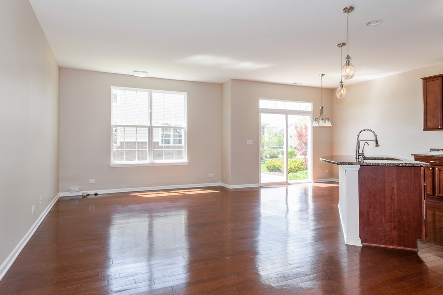 Real Estate Photography - 1271 Church Court, Aurora, IL, 60502 - Living Room