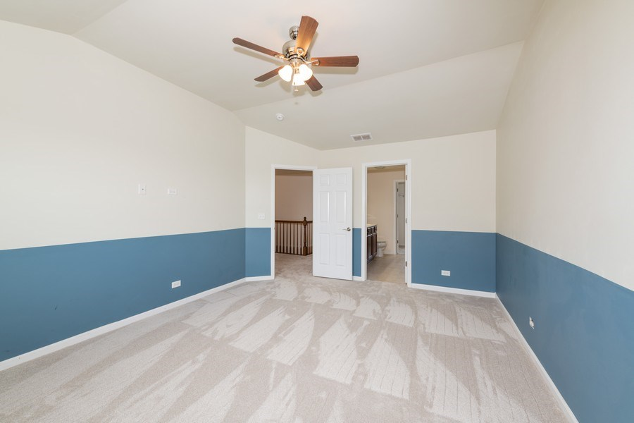 Real Estate Photography - 1271 Church Court, Aurora, IL, 60502 - Master Bedroom
