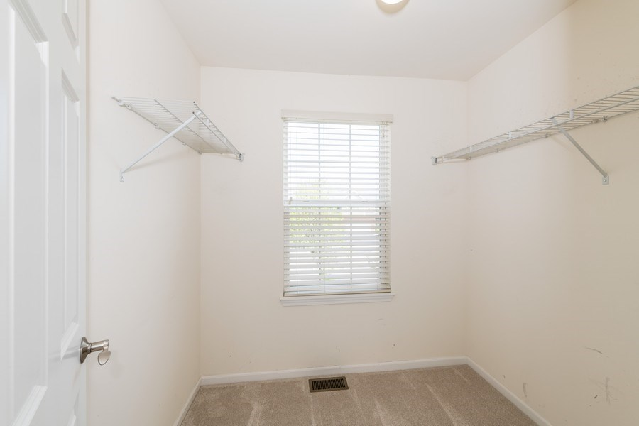 Real Estate Photography - 1271 Church Court, Aurora, IL, 60502 - Master Bedroom Closet