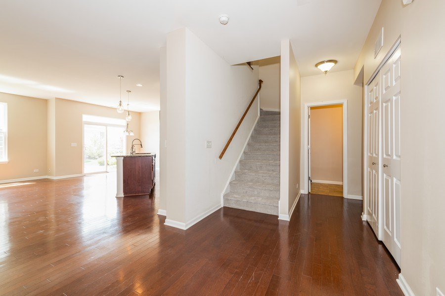 Real Estate Photography - 1271 Church Court, Aurora, IL, 60502 - Staircase