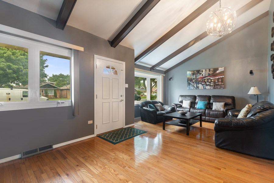 Real Estate Photography - 5943 S PARKSIDE, Chicago, IL, 60638 - Living Room