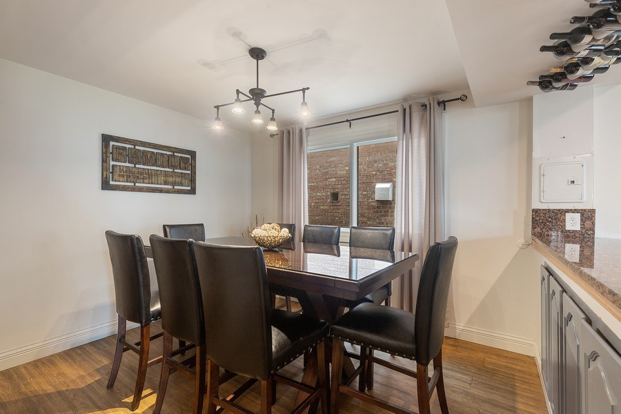 Real Estate Photography - 5943 S PARKSIDE, Chicago, IL, 60638 - Dining Room