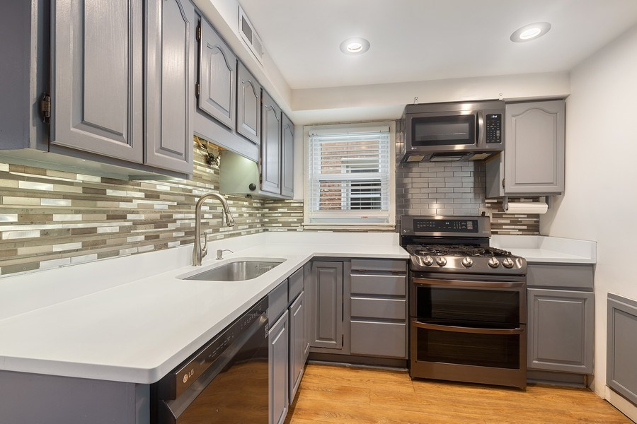 Real Estate Photography - 5943 S PARKSIDE, Chicago, IL, 60638 - Kitchen