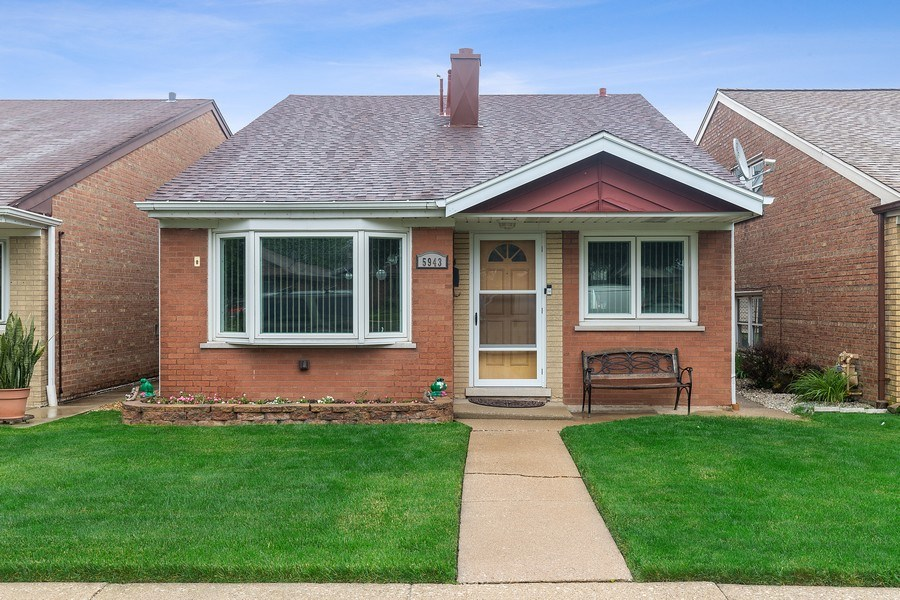 Real Estate Photography - 5943 S PARKSIDE, Chicago, IL, 60638 - Front View