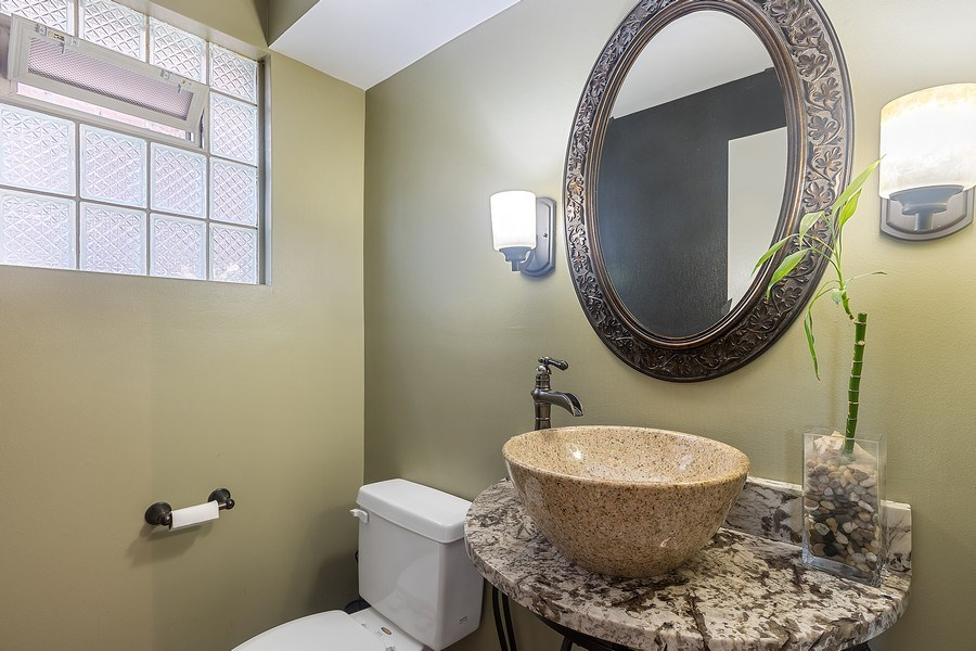 Real Estate Photography - 5943 S PARKSIDE, Chicago, IL, 60638 - 2nd Bathroom