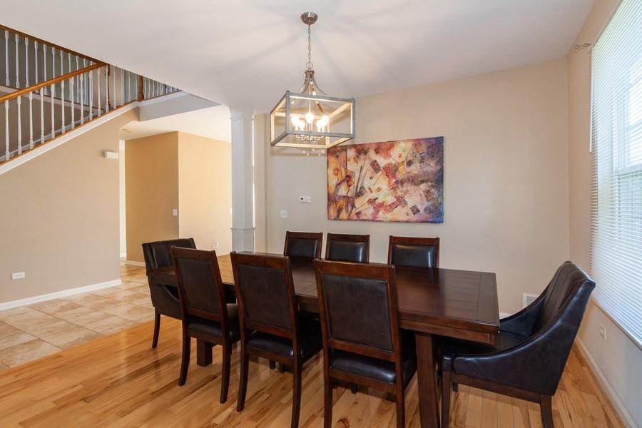 Real Estate Photography - 261 Hanburg Ln, Bolingbrook, IL, 60440 - Dining Room