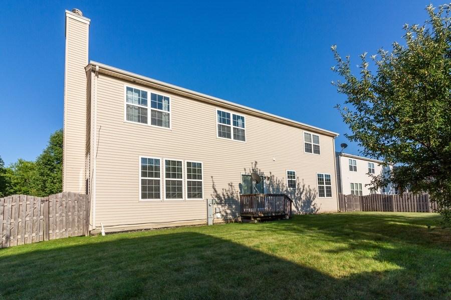 Real Estate Photography - 261 Hanburg Ln, Bolingbrook, IL, 60440 - Rear View
