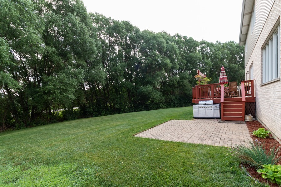 Real Estate Photography - 8909 Kilkenny Drive, Darien, IL, 60561 - Back Yard