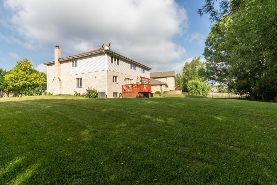 Real Estate Photography - 8909 Kilkenny Drive, Darien, IL, 60561 - Rear View