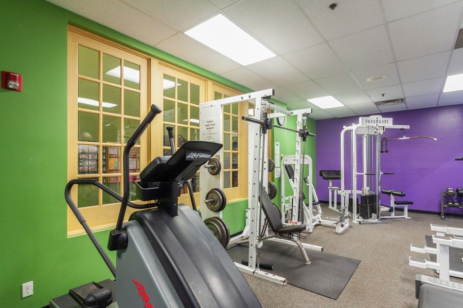 Real Estate Photography - 26 Harmony Ln., Romeoville, IL, 60446 - Exercise Room