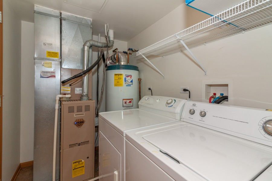 Real Estate Photography - 26 Harmony Ln., Romeoville, IL, 60446 - Laundry Room