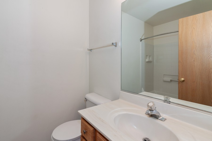 Real Estate Photography - 26 Harmony Ln., Romeoville, IL, 60446 - Bathroom